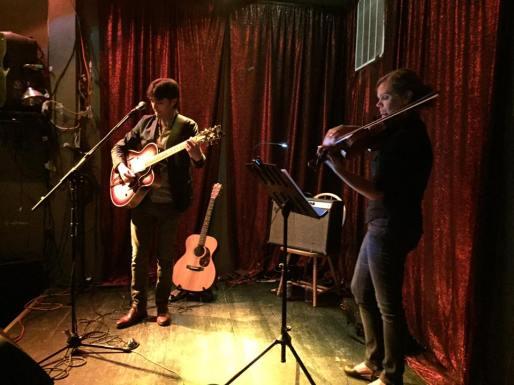 Andy & Andra Kulans (violin).