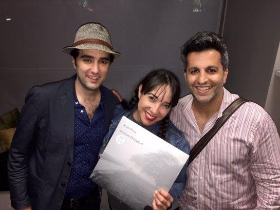 With Patti Vasquez & Paul Farahvar on WGN Radio's Pretty Late with Patti Vasquez.